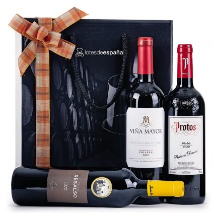 Cajas de Navidad con Vino y Cava